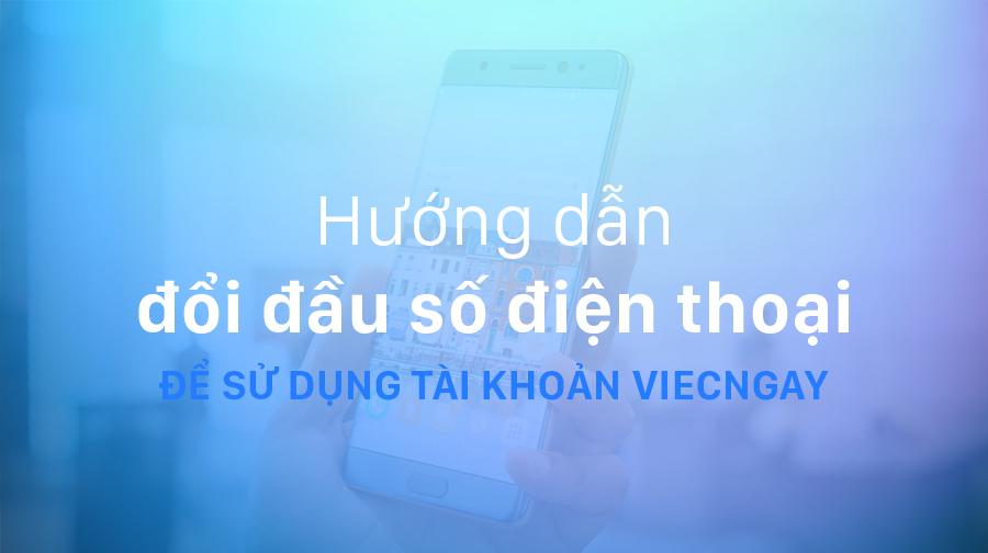 Hướng dẫn đổi đầu số điện thoại chuẩn quy định của Bộ Thông tin và Truyền thông