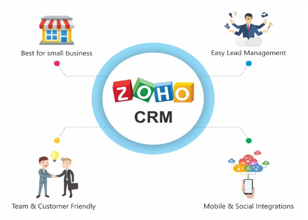 Zoho lại là phần mềm dành cho các doanh nghiệp nhỏ/ cá nhân bán hàng
